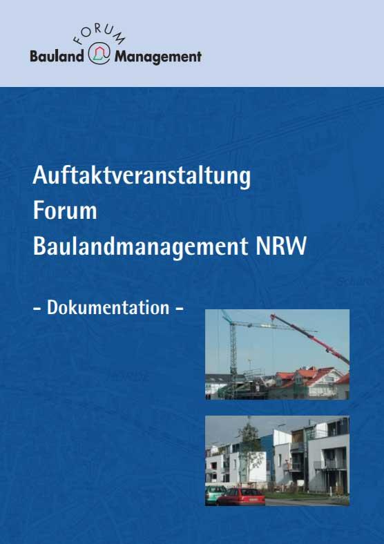 Auftaktveranstaltung Forum Baulandmanagement NRW